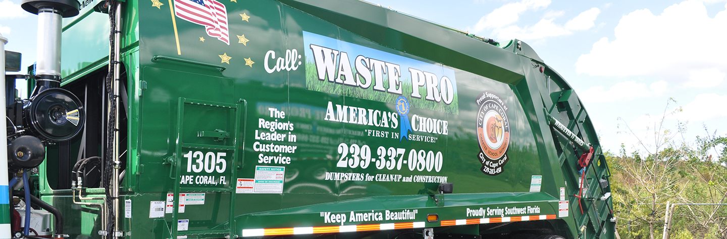 Holiday Schedule Waste Pro Usa