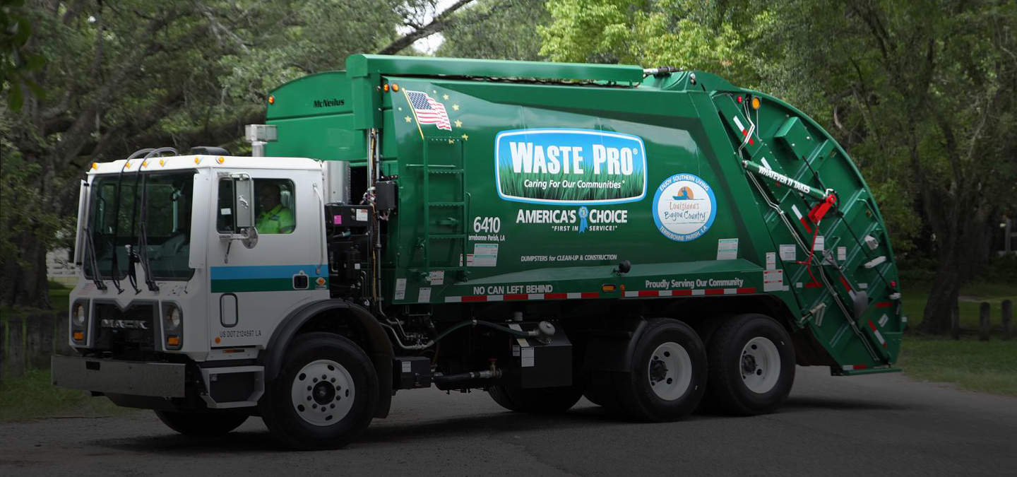 Waste Pro Usa Residential And Commercial Collection Services