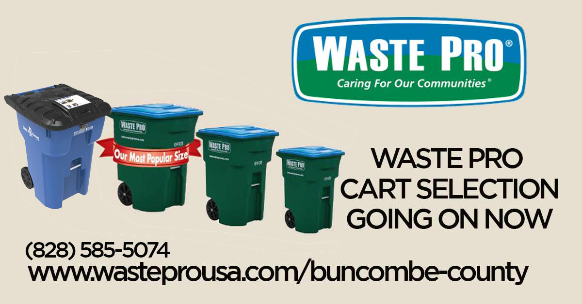 Waste Pro Cart Selection is Now Open